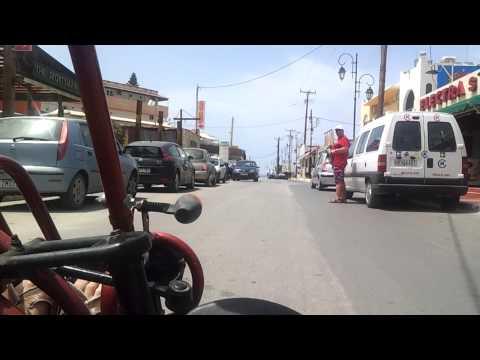 The best transport in Greece Malia Beach