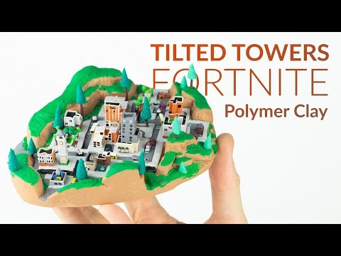 Tilted Towers (Fortnite Battle Royale) – Polymer Clay Tutorial