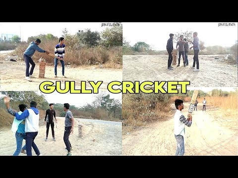 GULLY CRICKET || TYPES OF PEOPLE IN DESI GULLY CRICKET||JOBLESS YOUTH🏏