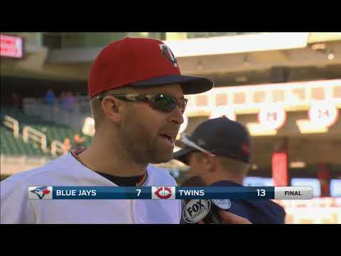 Twins' Dozier spits rhymes after win over Jays