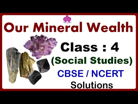 Our Mineral Wealth |  Class - 4 Social Studies | CBSE/NCERT Syllabus | Minerals & Ores