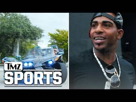 MLB Star Yoenis Céspedes, I'M A CAR PIMP! Creates 3-Wheeled Monster   TMZ Sports