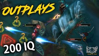 Perfect 200 IQ Outplays Montage - League of Legends Plays | LoL Best Moments #164