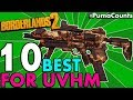 Top 10 Best Guns Weapons And Gear For Borderlands 2 S Ultimate Vault Hunter Mode UVHM Guide mp3