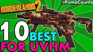 Top 10 Best Guns, Weapons and Gear for Borderlands 2's Ultimate Vault Hunter Mode (UVHM Guide)