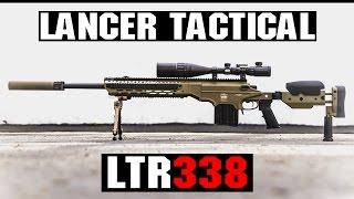 Lancer Tactical LTR338S Sniper Rilfe Overview | AIRSOFTGI.COM