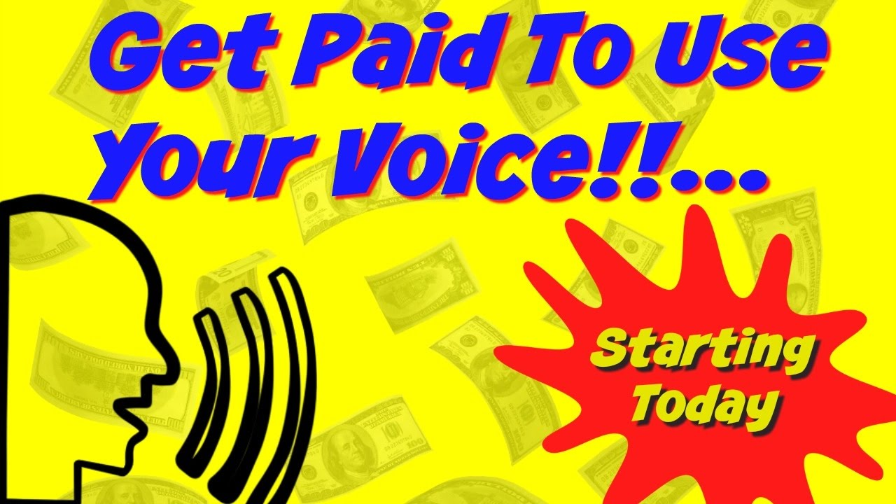 how to make money from home using your voice new course
