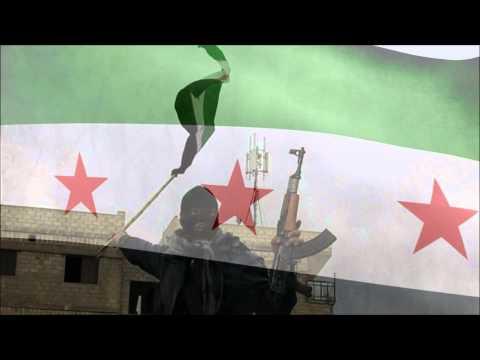 Free Syria flag & anthem