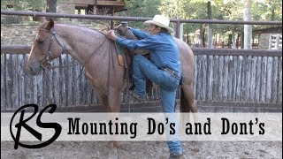 Mounting and Dismounting Do