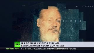 Reportedly US officially requests Assange's extradition who could face 175yrs in prison