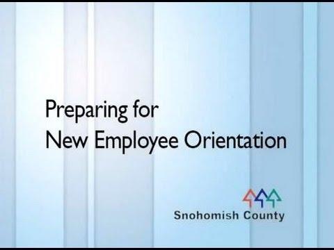 Preparing for New Employee Orientation - YouTube