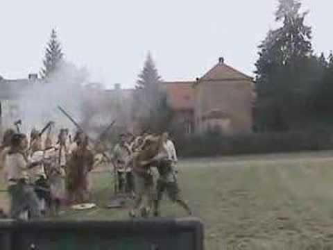 Ludi Savarienses Re-enactors' battle