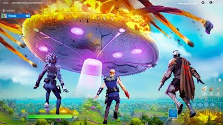 I Trolled Youtubers with a *FAKE* Fortnite Live Event!