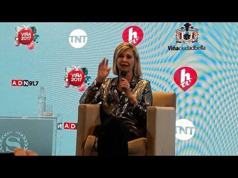 OLIVIA NEWTON JOHN CONFERENCIA EN VIÑA 2017 | Chile Press Conference