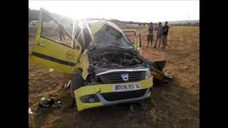 #عاجل حادث مرور في ولاية تيارت دائرة فرندة خلف 7 جرحي في حالة خطيرة يارب ارحمهم