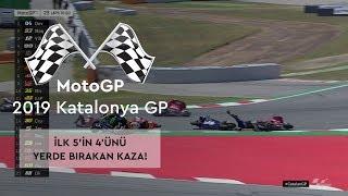 İlk 5'in 4'ü Yerde! (MotoGP 2019 - Katalonya Grand Prix)