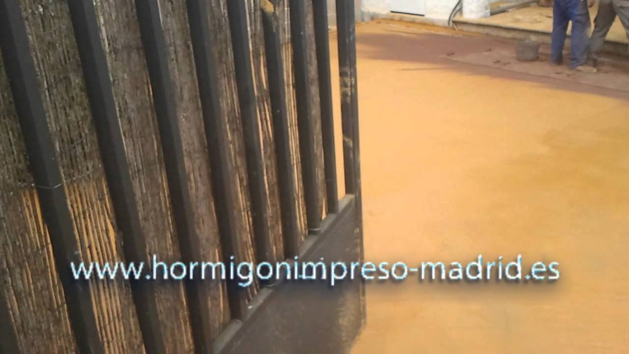 Hormigon impreso avila la ca ada youtube - Hormigon impreso avila ...