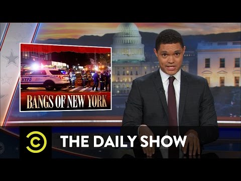 The Daily Show - New Yorkers React to the Manhattan Bombing