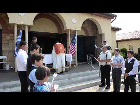 ST  NICHOLAS GREEK ORTHODOX SHRINE CHURCH FIRE, HELP US REBUILD.