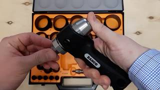 Набор составных просечек-высечек 2-50мм с уникальным пистолетным держателем