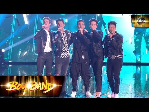 In Real Life - Eyes Closed Performance Live on Boy Band