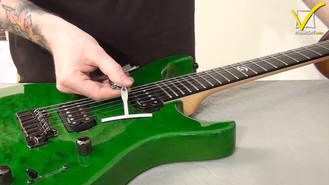 guitar setup 7 adjusting guitar action youtube. Black Bedroom Furniture Sets. Home Design Ideas