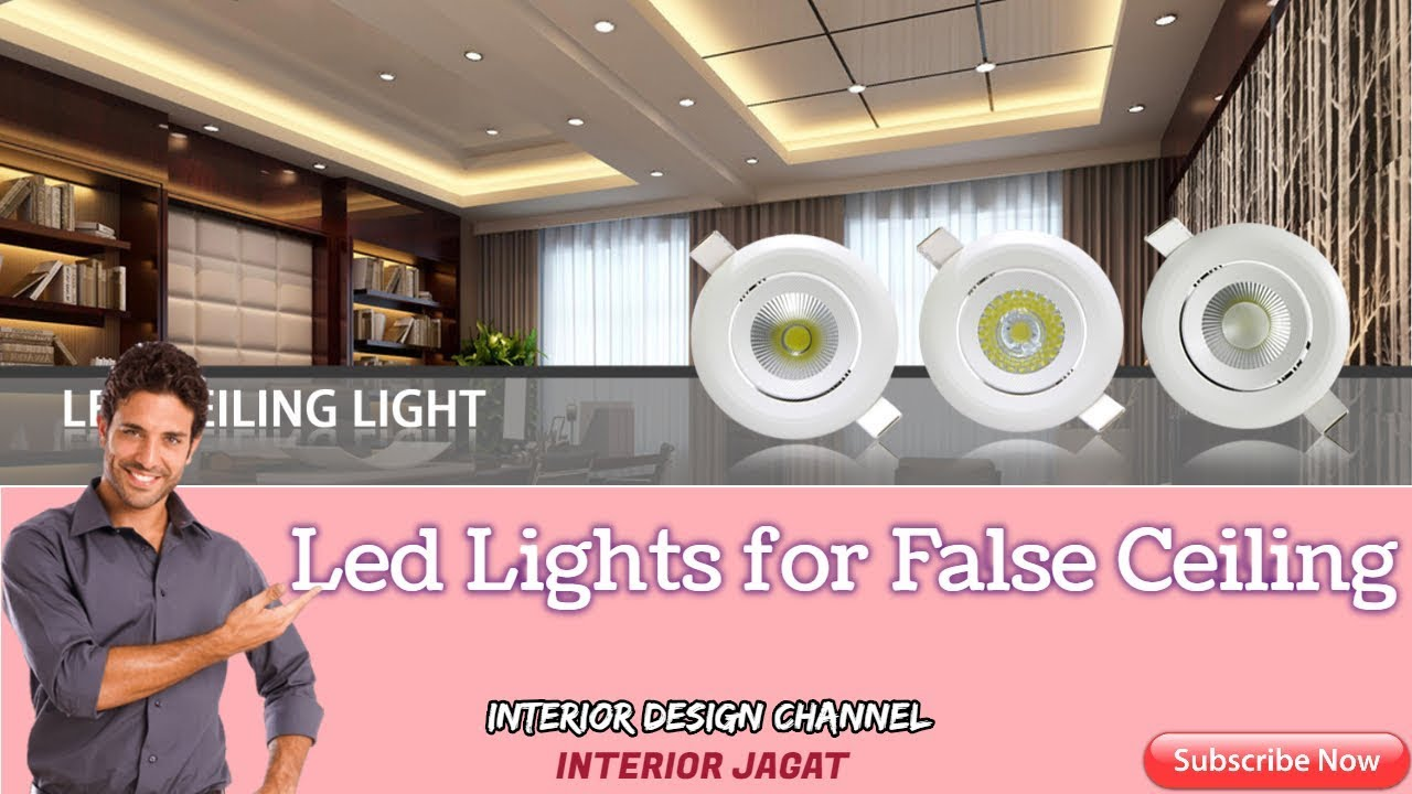 Led Lights For False Ceiling Best Home India