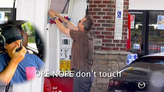 Gas Station Prank | Crazy Employee