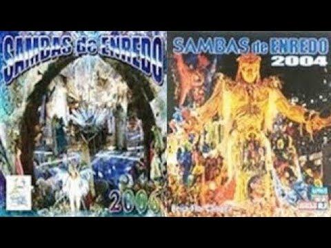 🎵 Grandes Sambas Enredo Especial (Carnaval Rio 2004 - 2005 - 2006 - 2007) 🎵