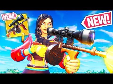 *NEW* SCOPED DRUM GUN!! - Fortnite Funny WTF Fails and Daily Best Moments Ep.1108