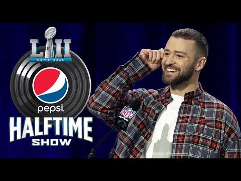 Best of Justin Timberlake's Super Bowl LII Press Conference | NFL