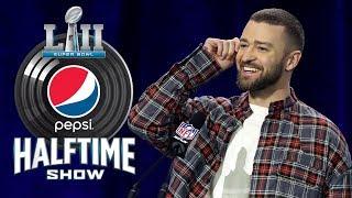Best of Justin Timberlake's Super Bowl LII Press Conference | NFL