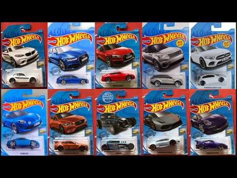 All Complete Hot Wheels 2019 Factory Fresh Series