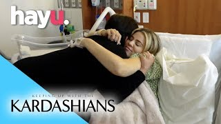 Things Get Emotional After Khloe's Birth  | Keeping Up with the Kardashians