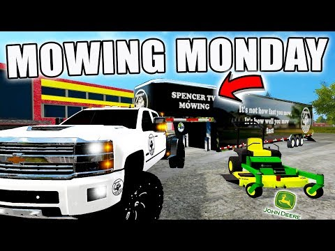 MOWING MONDAYS ARE BACK! | NEW TRAILERS + TRUCK | FARMING SIMULATOR 2017