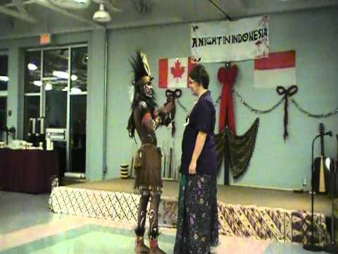 A NIGHT IN INDONESIA #7 - Welcoming Dance from Papua Province by Joe Foster