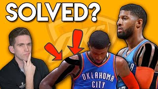 Does TAPING explain Paul George MYSTERY Shoulder Injury?