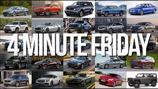 Car Safety Systems, Lots of Exciting News from Ford, and Yoshi? – 4 Minute Friday (8/17/18)