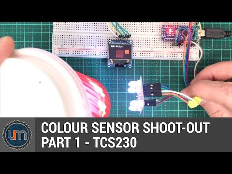 Colour Sensor Shoot-Out - Part 1 - TCS230