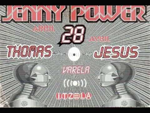 *Jenny Power - Thomas Totton & Jesús Varela - 28/04/2001