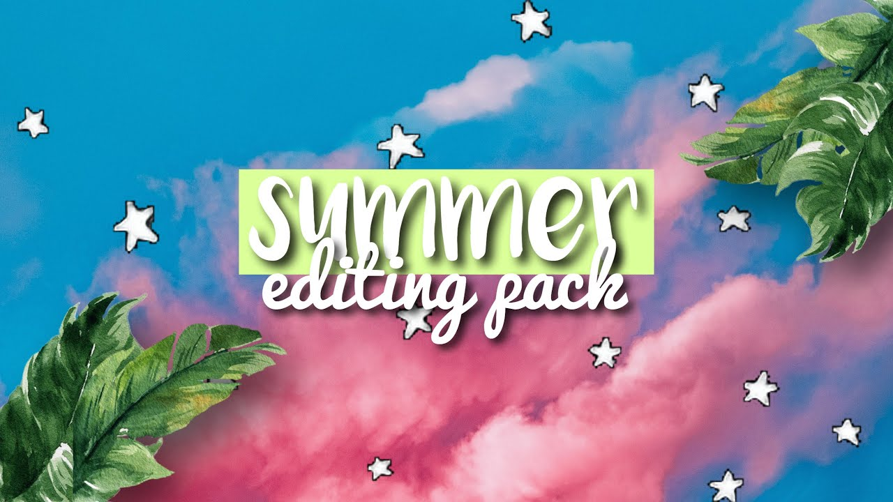 Download SUMMER EDITING PACK (INTRO, ENDSLATE, FONTS, OVERLAYS ...