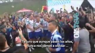 Messi Agüero cantando Brasil decime que se siente