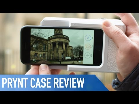 on sale 61fae 5d98c iPhone Printer Case : Prynt | Review - YouTube