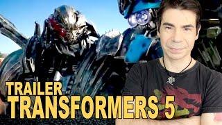 TRANSFORMERS 5 | TRAILER 3 - Megatron, Canopy e mini dinobots