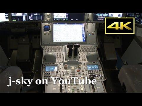 [4K] Airbus A350 XWB Landing, Cockpit, Close-up at Tokyo Haneda Airport / エアバスA350 JAL 羽田空港