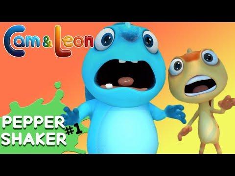 Hilarious Children Cartoon | Pepper Shaker | Cam & Leon