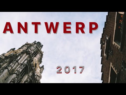 Antwerp, Belgium // Travel Vlog 2017