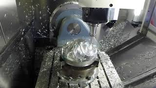 Hermle 5 Axis Machining an Impeller
