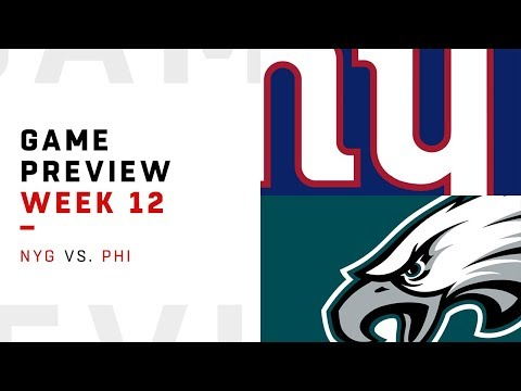 New York Giants vs. Philadelphia Eagles | Week 12 Game Preview | Move the Sticks