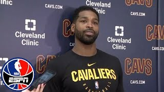 'Nothing but love and respect' - Tristan Thompson on LeBron James' Cleveland return | NBA on ESPN